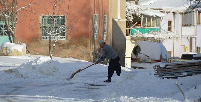 Kayseri'de kış