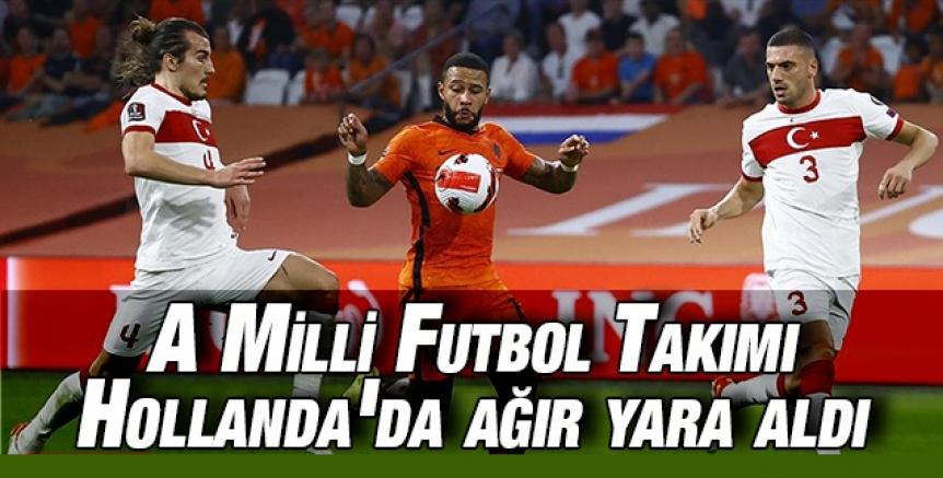 A Milli Futbol Takımı Hollanda'ya 6-1 yenildi