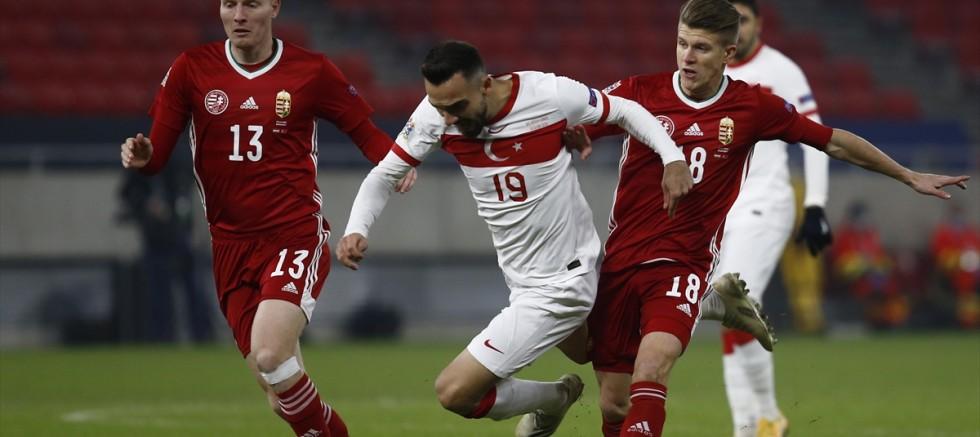 A Milli Futbol Takımı, Macaristan'a deplasmanda 2-0 yenildi