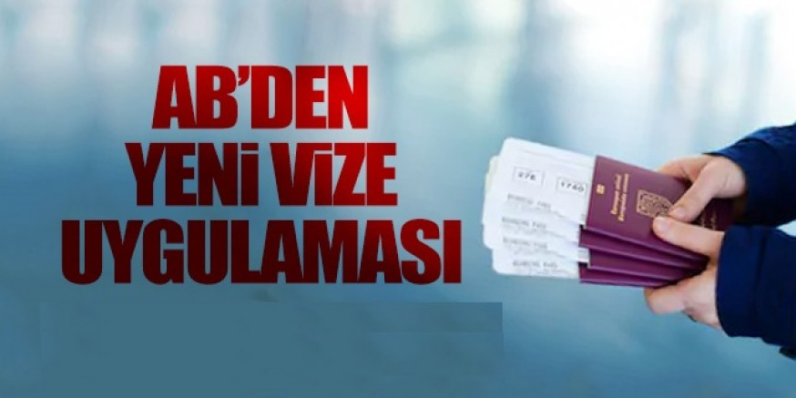 AB 'den Türkiye'ye vize kısıtlaması