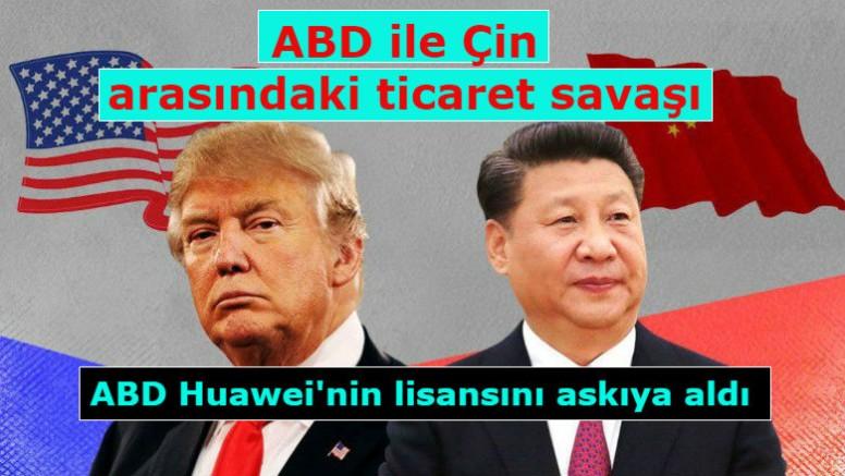 ABD ile Çin arasındaki ticaret savaşı