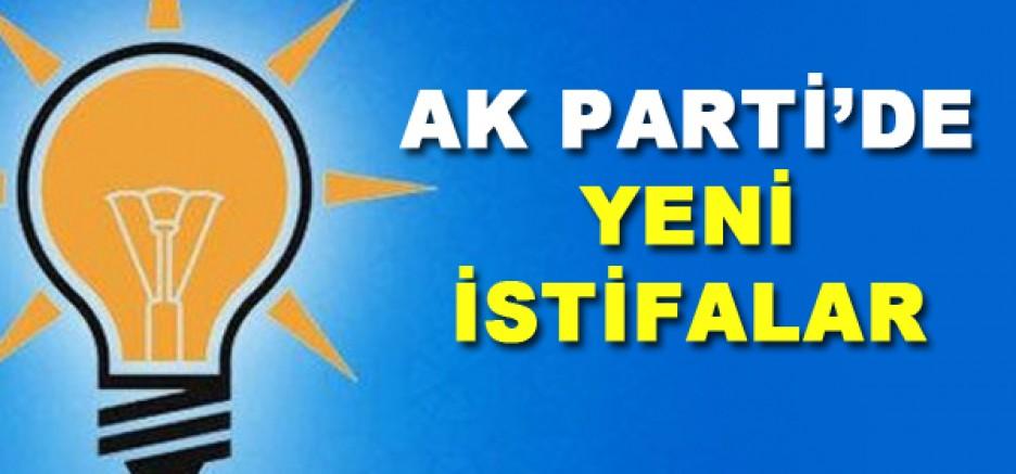 AK Parti 'de yeni istifalar