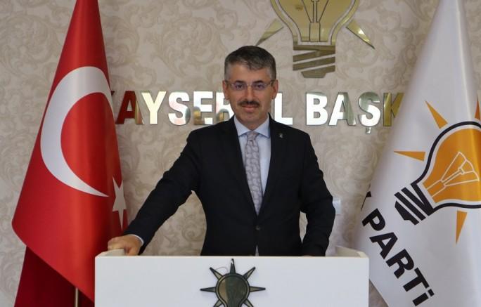 Ak Parti İl Başkanı Çopuroğlu :''Gazilerimiz Başımızın Tacı''