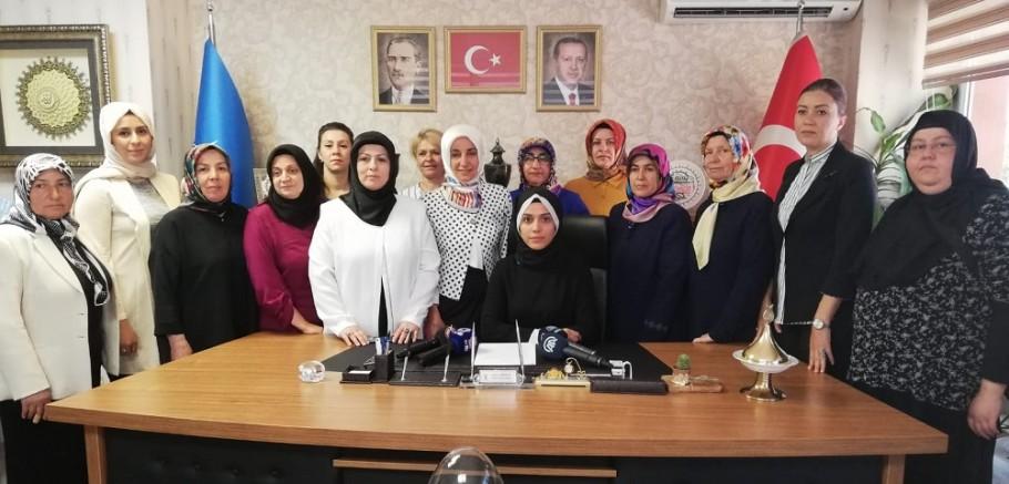 Ak Parti Kadın Kolları il Başkanlığından Srebrenitsa açıklaması