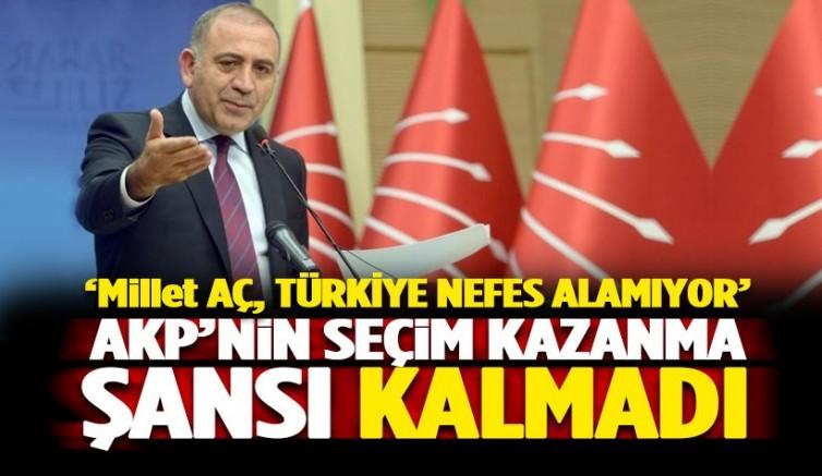 AK Parti 'nin artık kazanma şansı yok