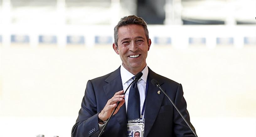 Ali Koç Fenerbahçe'de yeniden başkanlığına seçildi