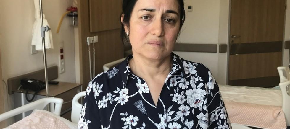 Asansör boşluğuna düşen Tuğçe'nin yaşam mücadelesi sürüyor