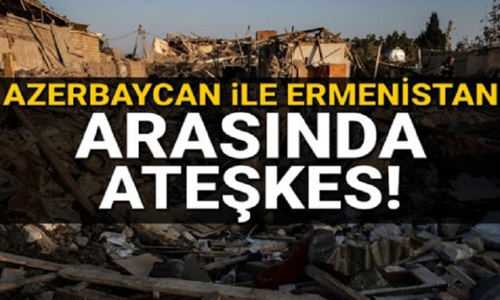 Azerbaycan ile Ermenistan insani ateşkes