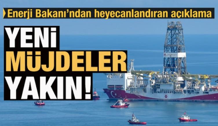 Bakan Dönmez: Karadeniz ve Doğu Akdeniz'den yeni müjdeler alacağımız günler yakındır