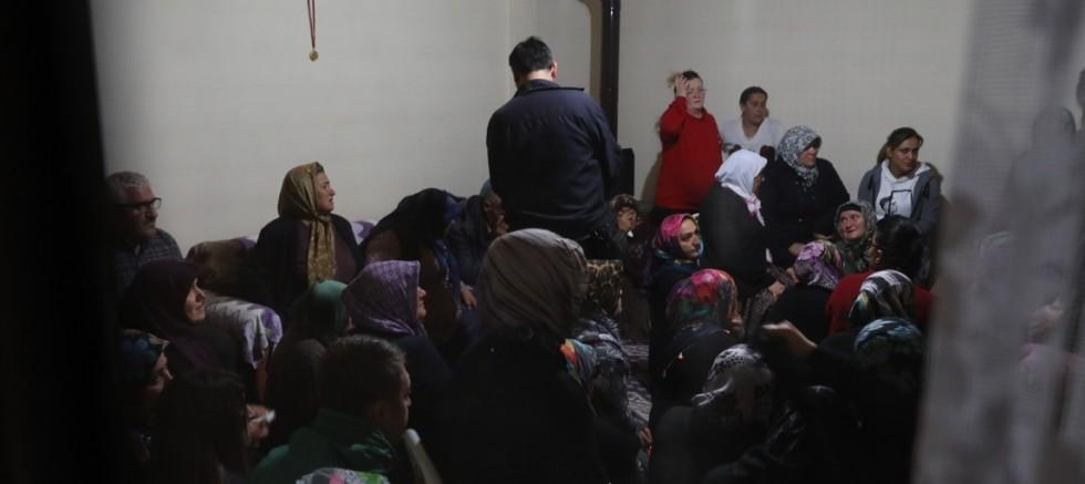 Barış Pınarı Harekatı'nda  şehit olan askerin baba evinde yas