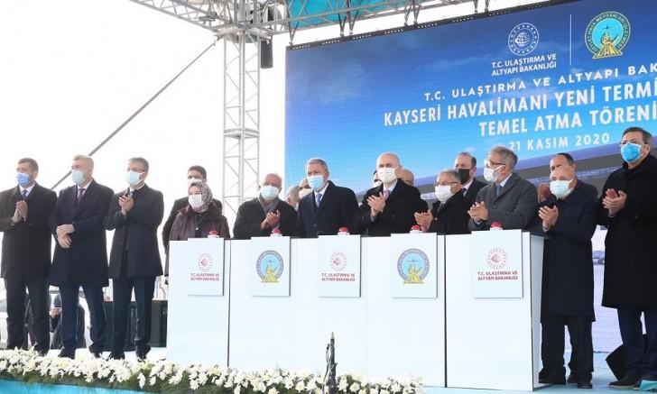 Başkan Büyükkılıç : '' Türkiye uçuyor, Kayseri uçuyor''