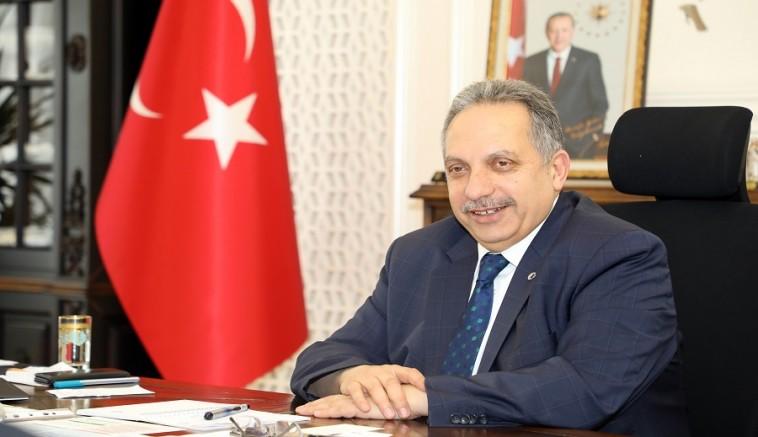 Başkan Mustafa Yalçın 'dan İstiklal Marşı mesajı