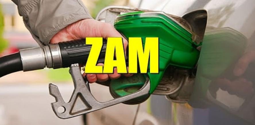 Benzinin litre fiyatına  20, motorinin litre fiyatına 12 kuruş zam geldi