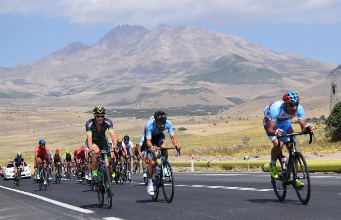 Kayseri'de Bisikletçiler uluslararası puanlar toplamak için yarışacak