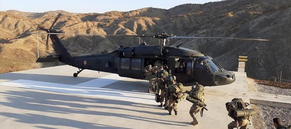 Bitlis'te 'Yıldırım-15 Mutki-Sarpkaya' operasyonu başlatıldı