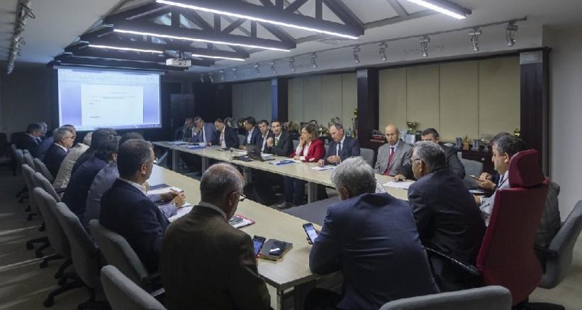 Büyükşehirde koordinasyon toplantısı