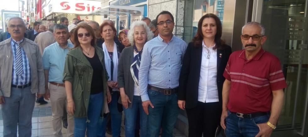 CHP Melikgazi ilçe Başkanlığından İmamoğlu'nun kampanyasına destek
