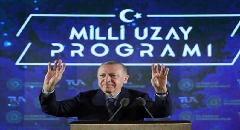 Cumhurbaşkanı Erdoğan : ''2023'te Ay'a gideceğiz''