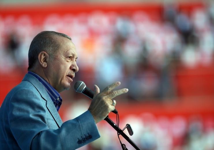 Cumhurbaşkanı Erdoğan, AK Parti Kayseri 7. Olağan İl Kongresi'nde konuştu