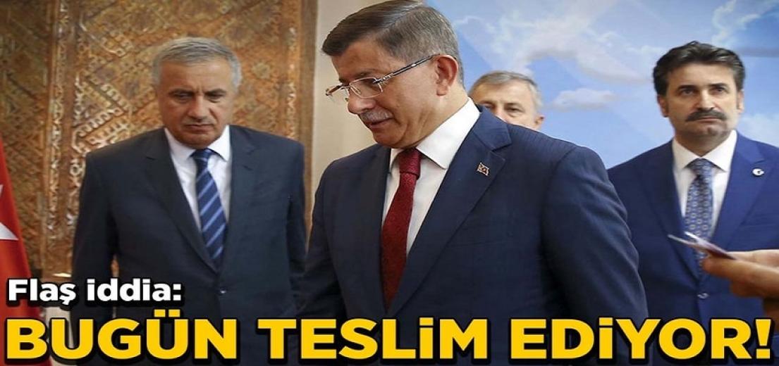 Davutoğlu 'nun partisinin adı