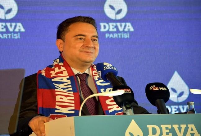 DEVA Partisi Genel Başkanı Babacan, partisinin Kırıkkale kongresine katıldı