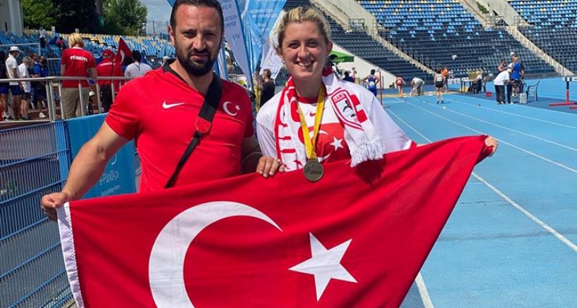 Dünya Para Atletizm Şampiyonası'nda milli atletlerden 1'i altın toplamda 6 madalya