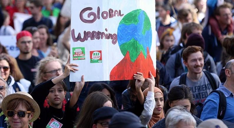 Dünyada iklim değişikliği protestoları