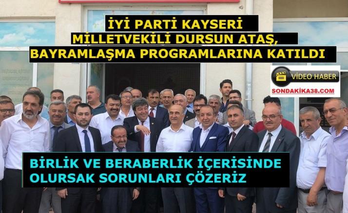 Dursun Ataş Bayramlar buruk  geçiyor çünkü Türkiye birçok sorunla karşı karşıya