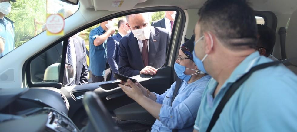 Emniyet Genel Müdürü Aktaş, Kayseri'de trafik kontrol noktasını ziyaret etti
