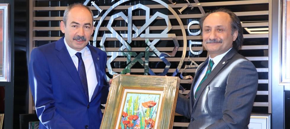 Erciyes Platformu, Kayseri Ticaret Odası'nı ziyaret etti