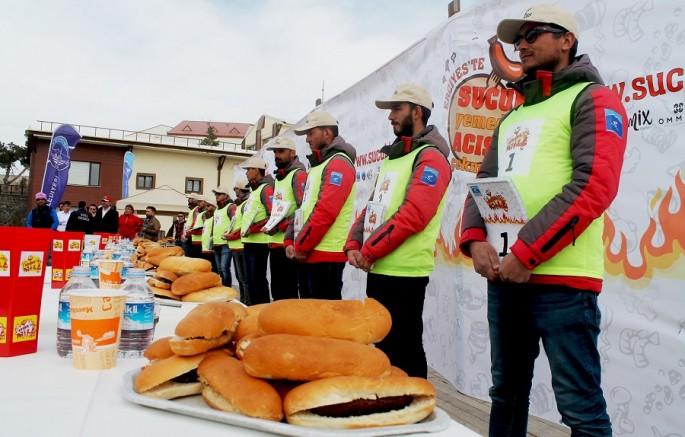 Erciyes 'te sucuk yeme yarışması düzenlenecek
