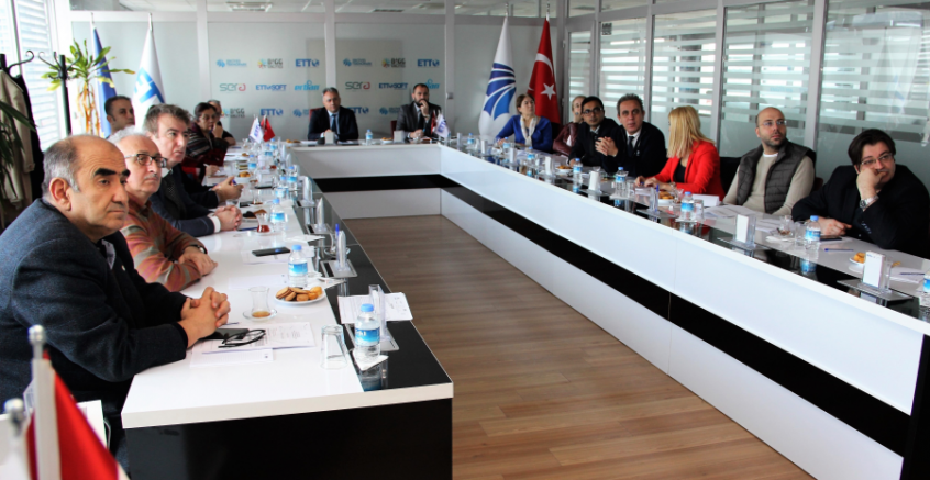 Erciyes Teknopark'ta Horizon 2020 Programı ERC Bilgi Günü Etkinliği Düzenlendi