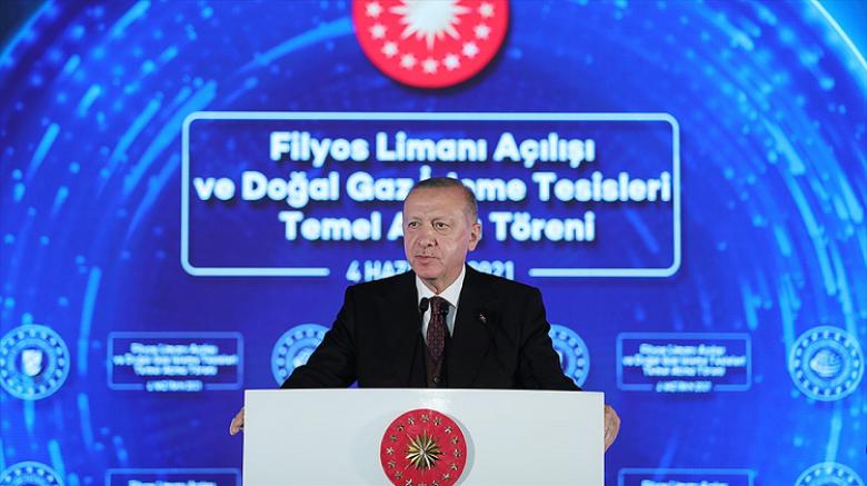 Erdoğan: Amasra-1 kuyusunda 135 milyar metreküplük doğal gaz keşfi  yapıldı
