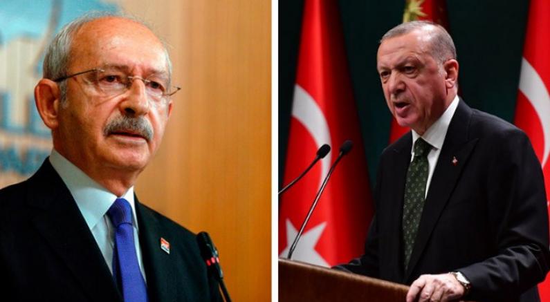Erdoğan, CHP Genel Başkanı Kılıçdaroğlu'na 500 bin liralık manevi tazminat davası açtı