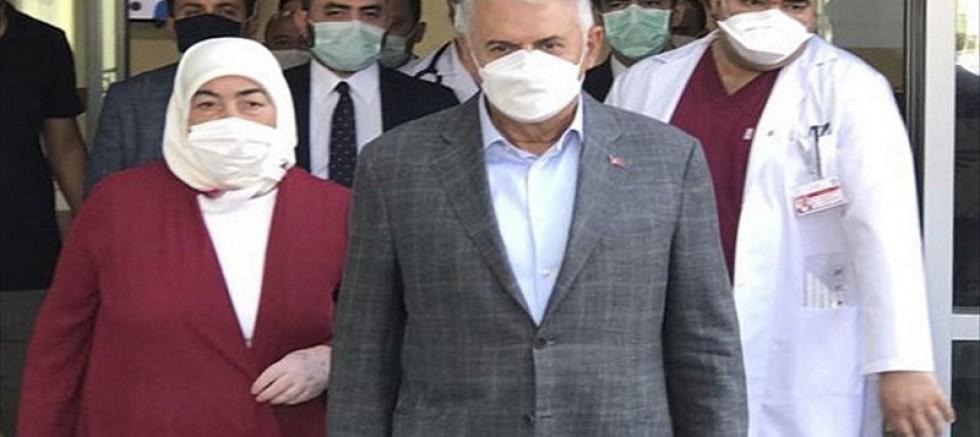 Eski Başbakan Binali Yıldırım'ın Kovid-19 testi pozitif çıktı