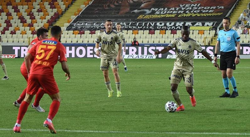 Fenerbahçe Malatya'dan 1 puanla döndü