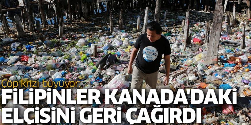 Filipinler ile Kanada arasında çöp krizi büyüyor