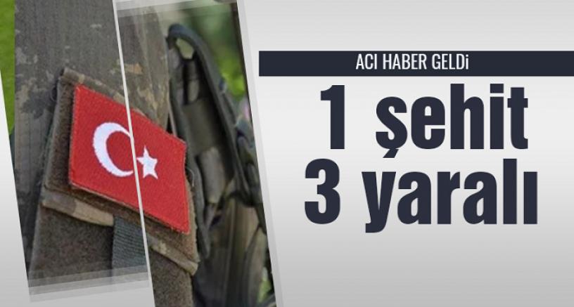 Fırat Kalkanı Harekat Bölgesi'nde  1 Özel Harekat Polisi şehit oldu .3'ü yaralandı