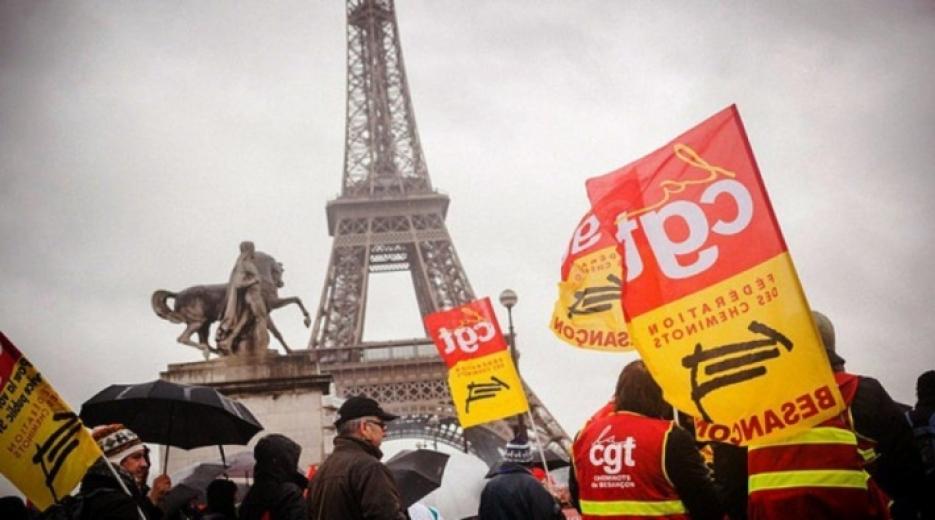 Fransa'da genel grev başladı