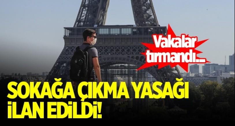 Fransa'da Paris ve 8 büyük ilde gece sokağa çıkma yasağı ilan edildi