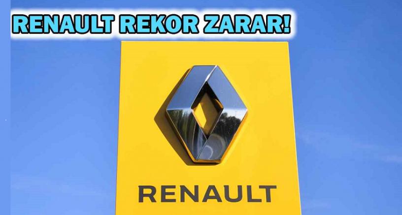 Fransız otomotiv devi Renault 9,7 milyar dolar zarar açıkladı