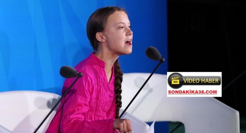 Genç İklim Aktivistinden Dünya Liderlerine: 'Hayallerimi Çaldınız'