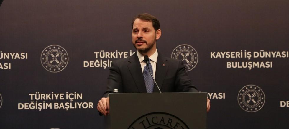 Hazine ve Maliye Bakanı Albayrak Kayseri'de iş insanlarıyla buluştu