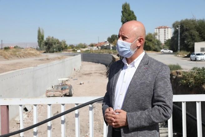 Hoca Ahmet Yesevi Mahallesi'ndeki kanal ıslahı çalışmaları tamamladı