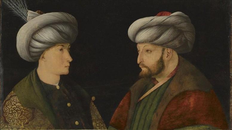 İstanbul Büyükşehir Belediyesi :Fatih Sultan Mehmet'in orijinal portresini 770 bin sterline satın aldı