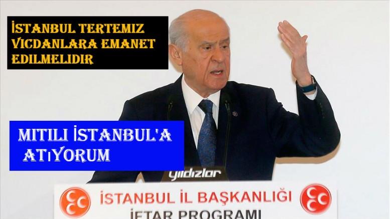 İstanbul tertemiz vicdanlara emanet edilmelidir