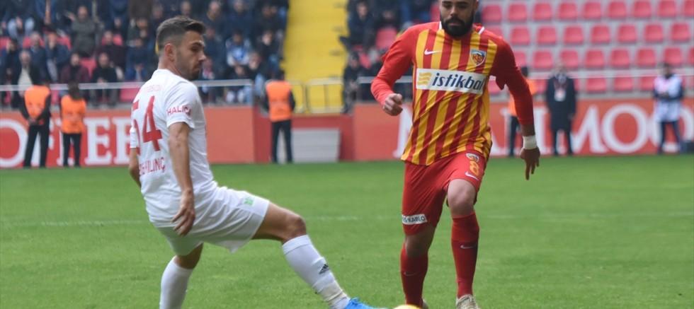 İstikbal Mobilya Kayserispor: 1 - Demir Grup Sivasspor: 4