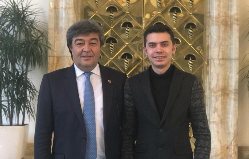 İYİ Parti Milletvekili Ataş Kayseri Gençlik Kolları Başkanlığına atan AV. Tuğrul Ercan'I tebrik etti