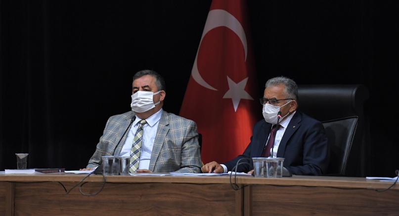 Kayseri Büyükşehir Belediye Meclisi eylül ayı toplantısı yapıldı