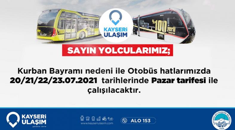 Kayseri Büyükşehir ile kurban bayramı'na hazır